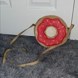 Donut Shaped Novelty Purse